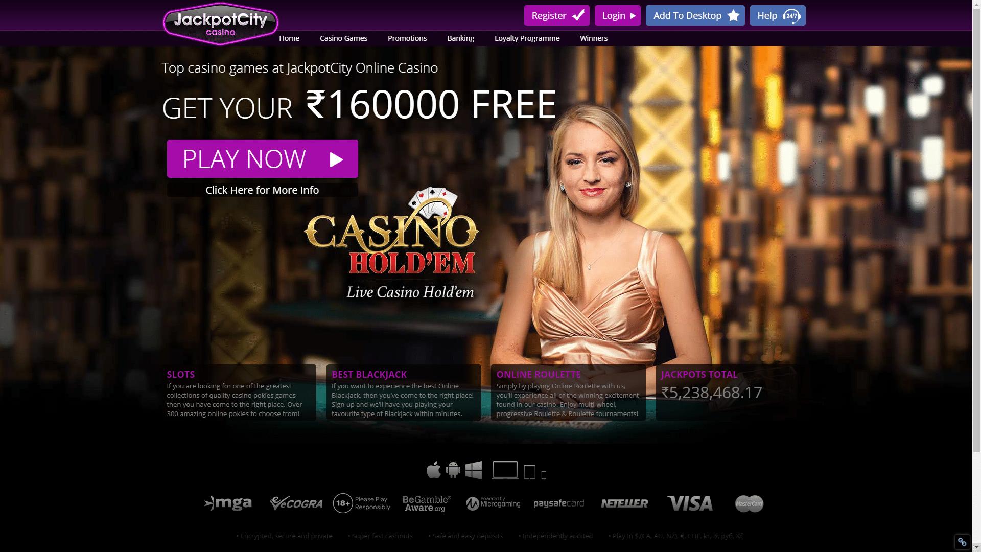Blitz Casino Bonus Canadian Review