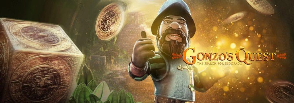 Gonzo's quest banner